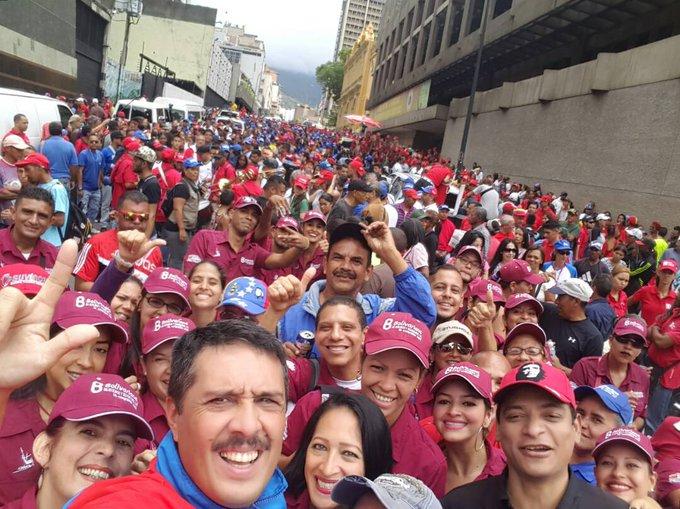 Venezuela cuenta con una clase trabajadora