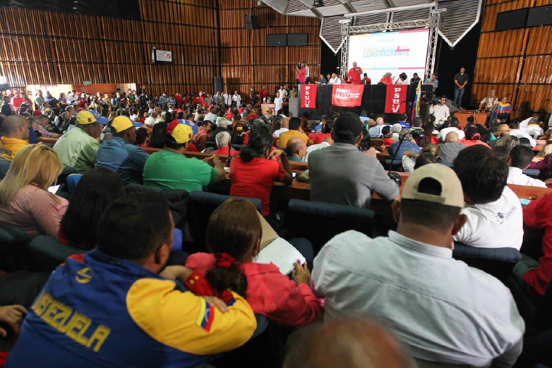 Estado convocó al PSUV a prepararse con la Constituyente